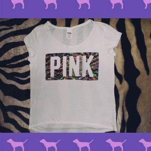 Victorias Secret PINK Sequence T-Shirt